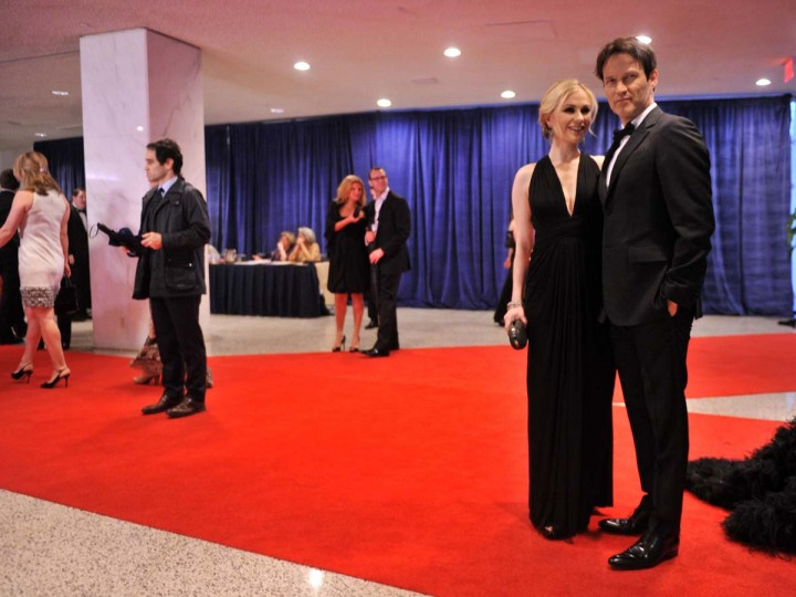 Anna Paquin and Stephen Moyer attend the 98th Annual White House Correspondents' Association Dinner at the Washington Hilton on April 28, 2012 in Washington, DC. (Stephen Lovekin/Getty Images)
