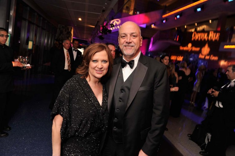 "Albert Manzo and Caroline Manzo from the ""Real Housewives of New Jersey"" attend the Capitol File's 7th Annual White House Correspondents' Association Dinner after party at The Newseum on April 28, 2012 in Washington, DC. (Stephen Lovekin/Getty Images)"