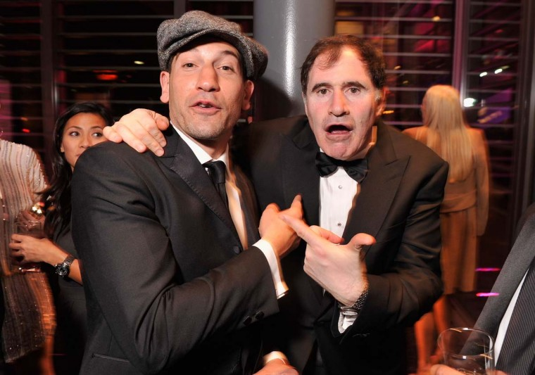 Actors Jon Bernthal and Richard Kind attend the Capitol File's 7th Annual White House Correspondents' Association Dinner after party at The Newseum on April 28, 2012 in Washington, DC. (Stephen Lovekin/Getty Images)