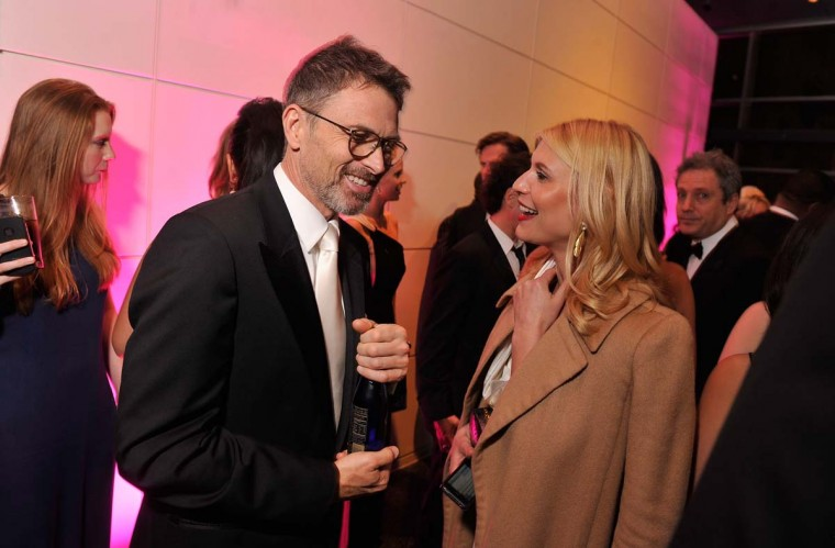 Actors Tim Daly and Claire Danes speak at the Capitol File's 7th Annual White House Correspondents' Association Dinner after party at The Newseum on April 28, 2012 in Washington, DC. (Stephen Lovekin/Getty Images)