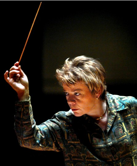 Marin Alsop: Conductor. Alsop became the 12th director of Baltimore Symphony Orchestra in 2007. (Monica Lopossay/Baltimore Sun)