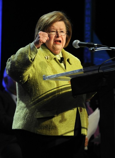 U.S. Senator Barbara Mikulski: Politician. Mikulski, born in Baltimore in 1936, is the senior U.S. Senator from Maryland. She is the longest-serving female senator and the longest-serving woman in the history of the U.S. Congress, having served since 1977. (Lloyd Fox/Baltimore Sun)