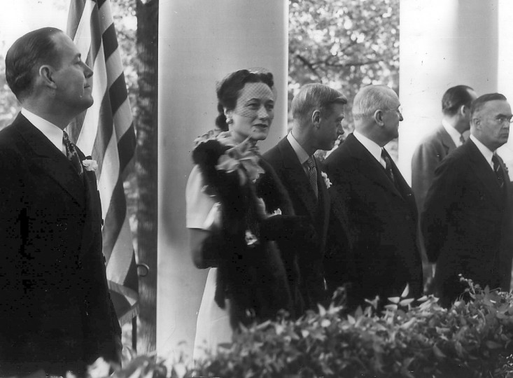 Wallis Simpson. Socialite. Simpson married England's King Edward VIII, who gave up his throne. A recent movie, directed and written by Madonna, was loosely based on their romance. (Baltimore Sun file photo)