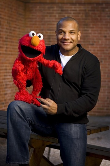 Kevin Clash: Puppeteer. The puppet master behind Elmo on Sesame Street. Kevin was born in Turners Station in Baltimore County. (Justin Case/Patuxent Publishing)