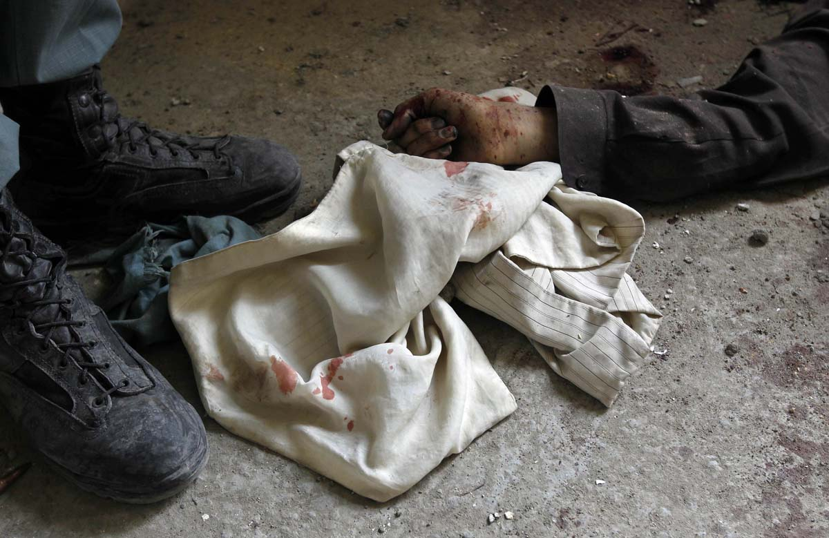 GRAPHIC CONTENT: Photos from weekend attacks in Afghanistan