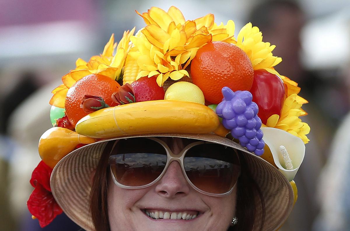 Шляпа фрукты своими руками 56