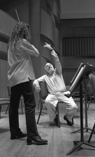 David Zinman: Conductor. Musical director for the Baltimore Symphony Orchestra between 1985 and 1998. (Perry Thorsvik/Baltimore Sun)