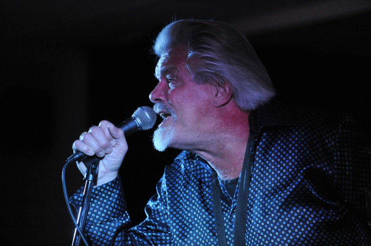 Terry Hanck belts out a tune at the Baltimore Blues Society At the Rosedale American Legion Hall. (Robert K. Hamilton/Baltimore)