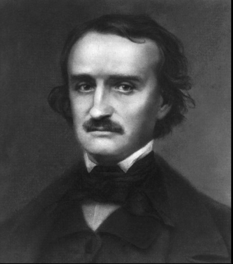 Edgar Allan Poe: Writer. Poe was an American poet and writer, who is described as the father of the modern detective story. At age 40, Poe died in Baltimore on Oct. 7, 1849. Circumstances surrounding his death remain a mystery. (Undated handout photo)