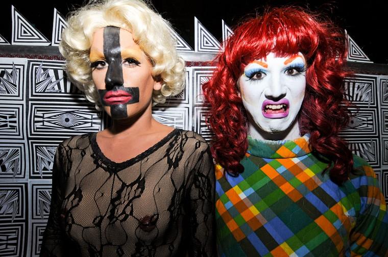 Amber Alert and Ellen Degenerate at Game in the Night at Club Hippo. May 4. (Credit: Jen Mizgata/ jenmiz.biz)