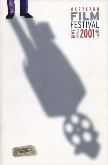 2001 Maryland Film Festival (Designed by MGH)