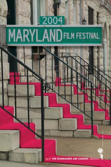 2004 Maryland Film Festival (Designed by MGH)