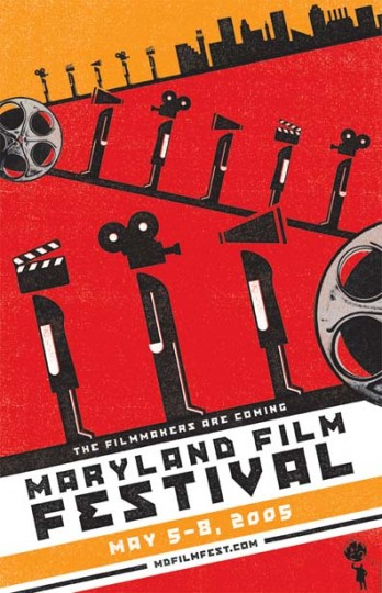 2005 Maryland Film Festival (Designed by MGH)