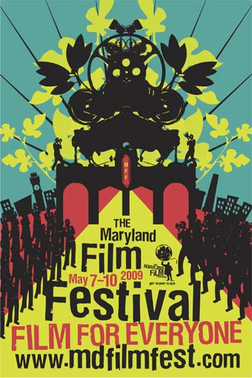 2009 Maryland Film Festival (Designed by Orange Element)