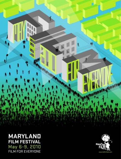 2010 Maryland Film Festival (Designed by Orange Element)