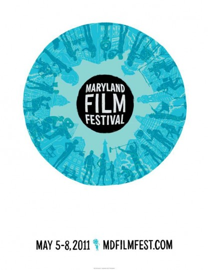 2011 Maryland Film Festival (Designed by Post Typography)