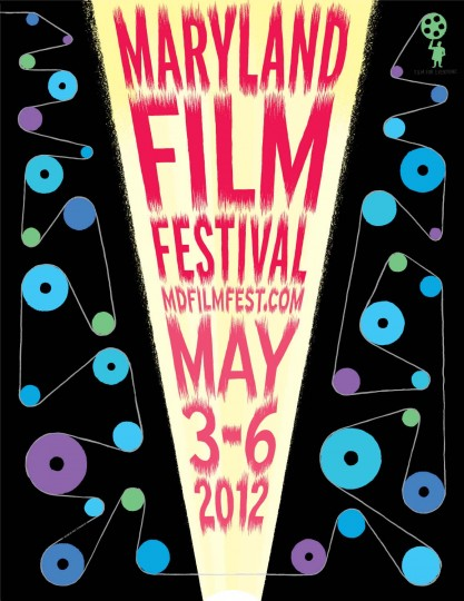2012 Maryland Film Festival (Designed by Post Typography)