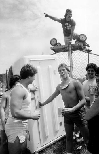 Preakness Infield 1980 (Jed Kirschbaum/Baltimore Sun)