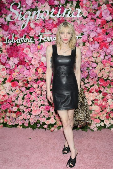 In 1992, Hole singer Courtney Love gave birth to a daughter with Nirvana frontman Kurt Cobain. After Kurt's suicide in 1994, Courtney's parenting would come into question on more than one occasion, including a restraining order against her a year before her daughter's 18th birthday. Pictured: Courtney Love attends the after-party for the launch of Salvatore Ferragamo's Signorina fragrance at Palazzo Chupi on March 20, 2012 in New York City. (Neilson Barnard/Getty Images)