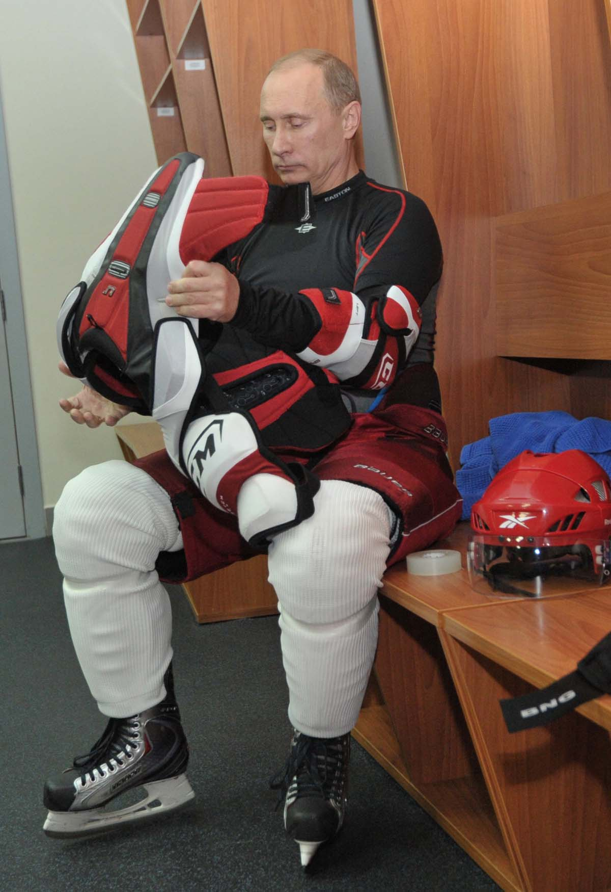 hockey in russia T j oshie scored four times in the shootout to give the united states men's hockey team a victory over russia in preliminary play at the sochi olympics.
