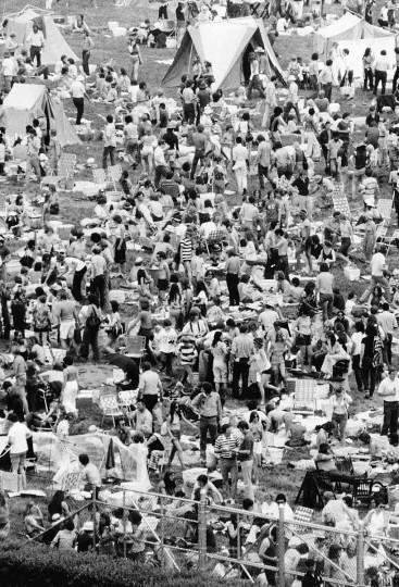 Preakness Infield 1974 (Lou Bush/Baltimore Sun)