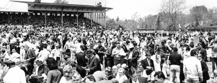 Preakness infield crowd in 1967. (Ralph L. Robinson/Baltimore Sun)