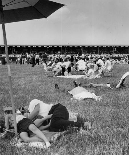 Preakness infield 1966. (Ralph L. Robinson/Baltimore Sun)