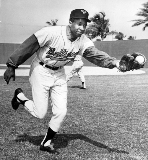 Joe DiPaola took this picture of Frank Robinson at spring training in 1968. (Joseph A. DiPaola/Baltimore Sun)