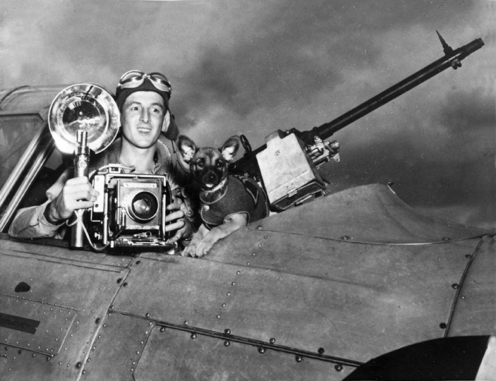 This is a December 1942 photo of Private Joseph DiPaola, Jr. when he served in World War II in the Army Air Corps as a photographer for intelligence doing bombing surveys. (file photo)