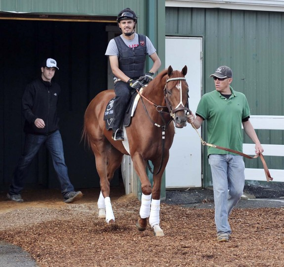 Tyler Cerin, physical therapist for Kentucky Derby winner I'll Have Another. (Kim Hairston/Baltimore Sun)