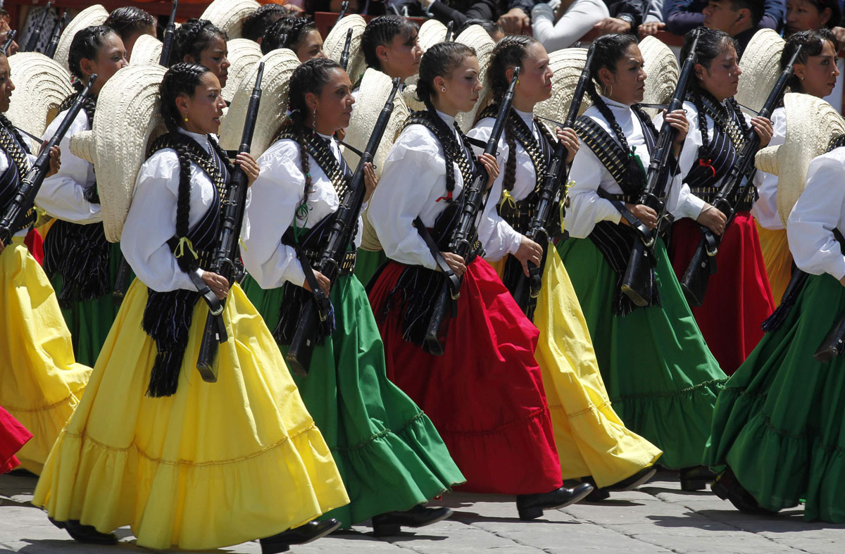 Bicentennial Celebrations In Mexico City