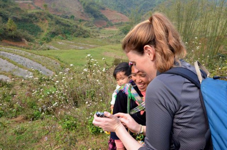 In Sapa, Scott and Pam Gorsuch spent two days hiking through five hill villages with a local Hmong guide named Chi. These were among the sights they say. (Credit: Scott and Pam Gorsuch)