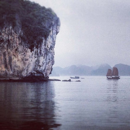 Scene from Ha Long Bay. (Credit: Scott and Pam Gorsuch)