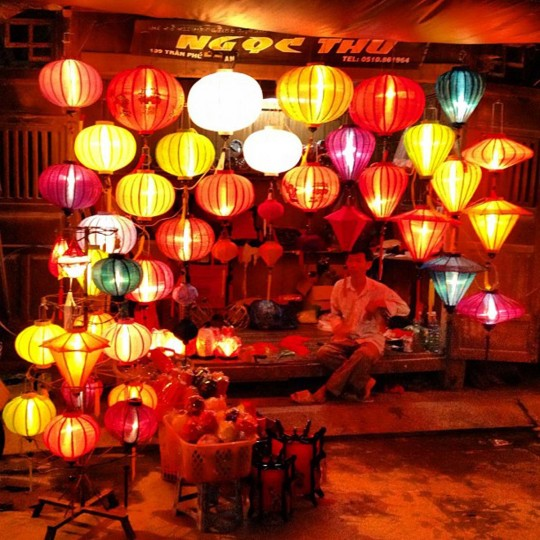 Lantern shop in Hoi An. (Credit: Scott and Pam Gorsuch)
