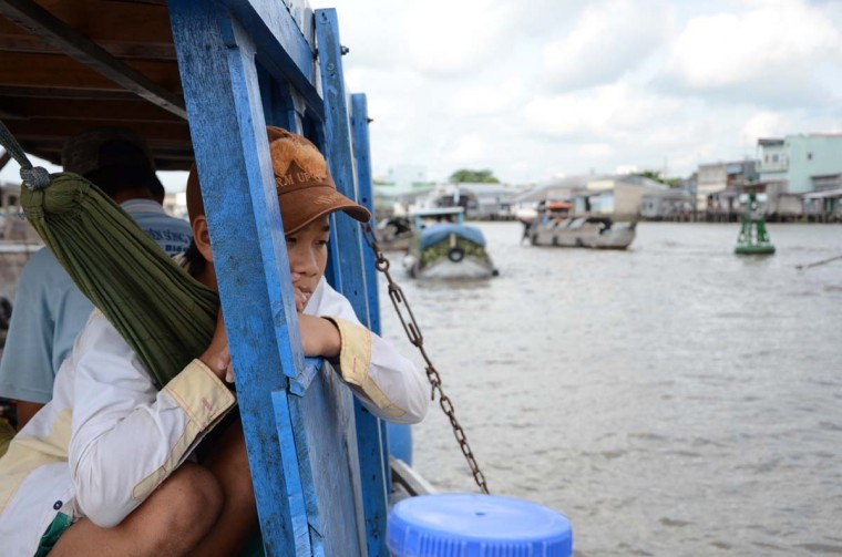 From Ho Chi Minh City, Scott and Pam spent 2 days and 1 night on a boat cruising west on the Mekong Delta. Here are scenes from their boating trip. (Credit: Scott and Pam Gorsuch)