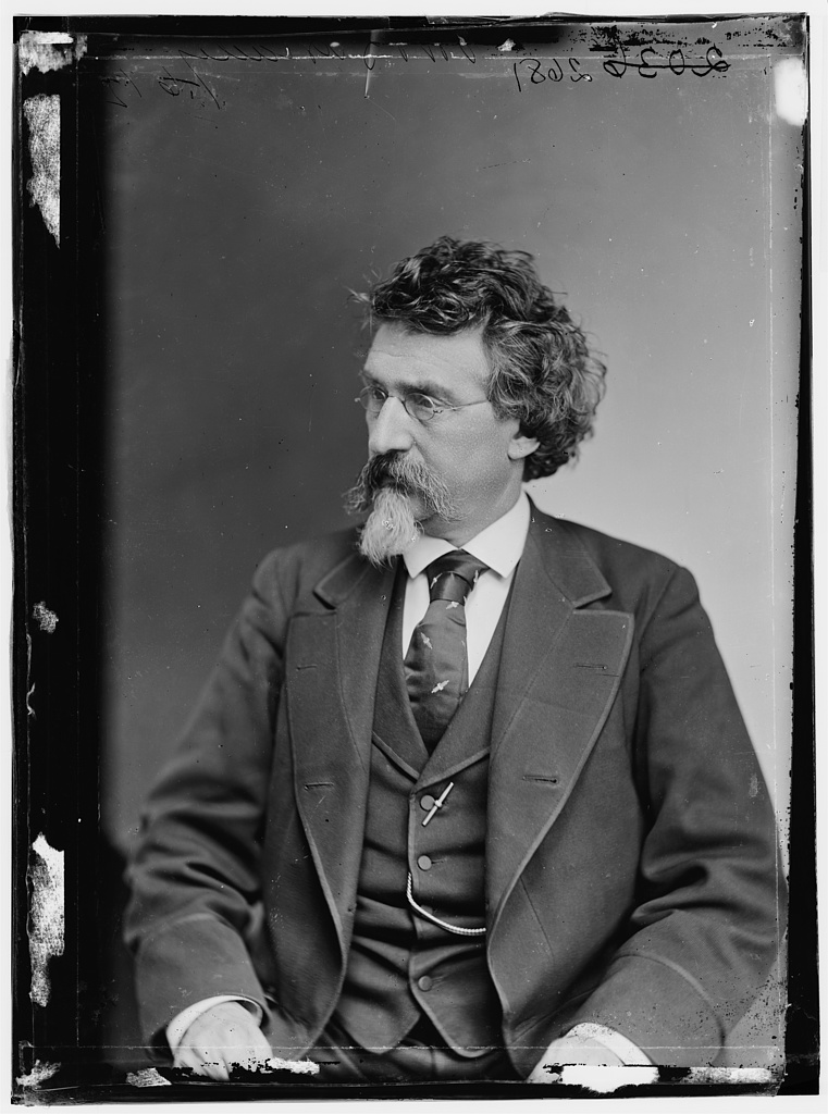 "B. Brady, ""Father of photojournalism"" – One of America's most prolific photographers, Brady is known is known for his portraits and documentation of the American Civil War. ""My greatest aim has been to advance the art of photography and to make it what I think I have, a great and truthful medium of history,"" Brady said. (Library of Congress)"