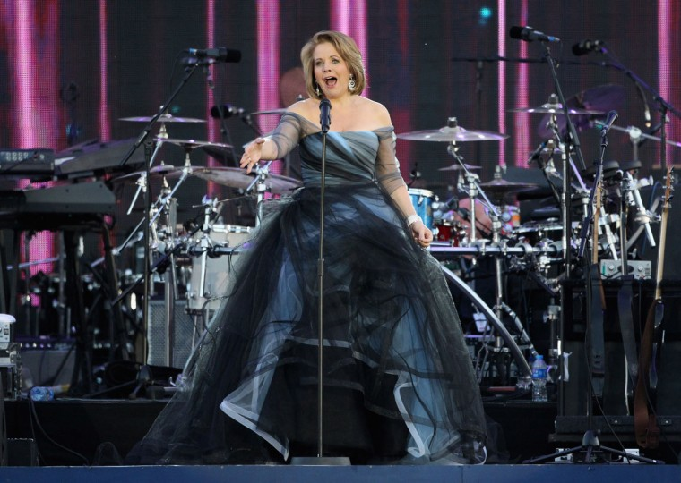 Singer Renee Fleming performs on stage during the Diamond Jubilee concert at Buckingham Palace on June 4, 2012 in London, England. (Dan Kitwood/Getty Images)