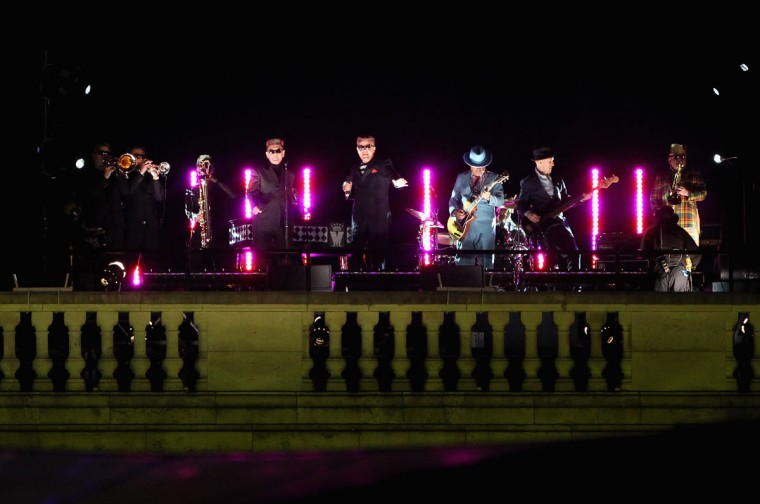 Madness perform during the Diamond Jubilee concert at Buckingham Palace on June 4, 2012 in London, England. (Dan Kitwood/Getty Images)
