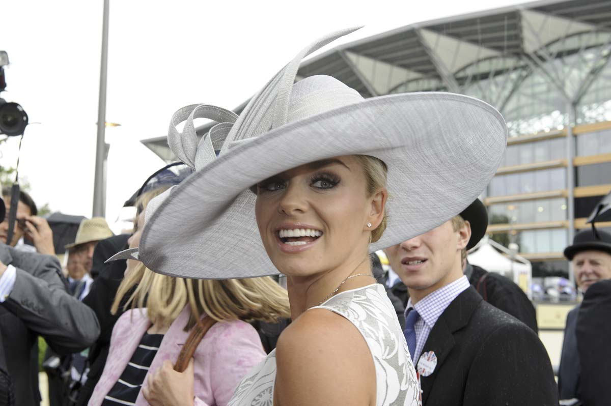 Katherine Jenkins attends Ladies Day of Royal Ascot at Ascot Racecourse in Ascot, England. (Ben Pruchnie/Getty Images)
