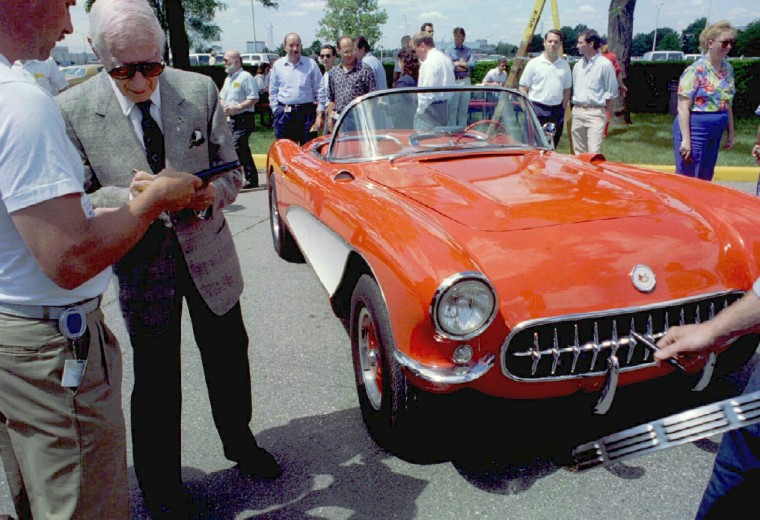 "Arkus Duntov, ""Father of the Corvette"" – The Belgian-born engineer is said to have saved the Chevrolet Corvette and paving its way into sports car history. (Hugh Grannum/Reuters)"