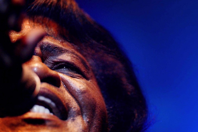 "James Brown, ""Godfather of Soul"" – Brown is known for his voice, outrageous dance moves and hits like ""Sexmachine"" (1970), ""Papa's got a brand new bag"" (1965) and ""It's a man's world"" (1966). (AFP)"