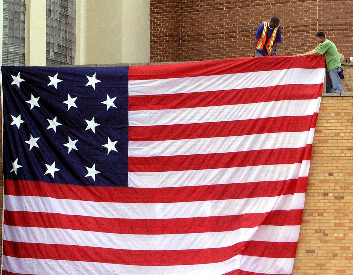 American flag 1812