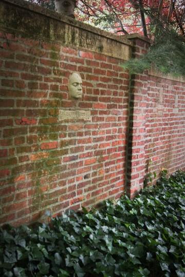 View inside H.L. Mencken's garden. (Sue Izard/Sue Izard Photography)