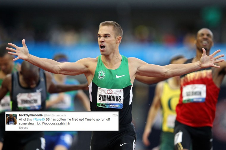 Nick Symmonds: The U.S. track and field star is known for his commitment to branding, literally. Before the games, Symmonds sold the rights to his left arm with a tattoo for the Milwaukee advertising and design agency Hanson Dodge. So it's no surprise that Symmonds would join other U.S. athletes like Sanya Richards-Ross to protest an Olympic rule that prevents athletes from publicly thanking some of their corporate benefactors. Organizers want only official Olympic sponsors like Visa to get the attention. The protest has spawned the twitter hashtags #wedemandchange and #rule40. (Christian Petersen/Getty Images)