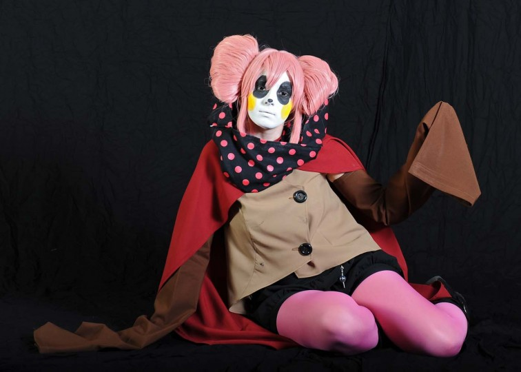 "Rebecca Sites, of Pittsburgh, Pa., dressed as Charlotte from ""Pvella Maghi Madoka Magica."" (Kenneth K. Lam/Baltimore Sun)"