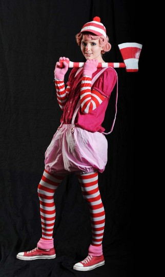 Milo Ash, of Tyrone, Pa., dressed as Mr. Mint in the board-game Candyland. (Kenneth K. Lam/Baltimore Sun)