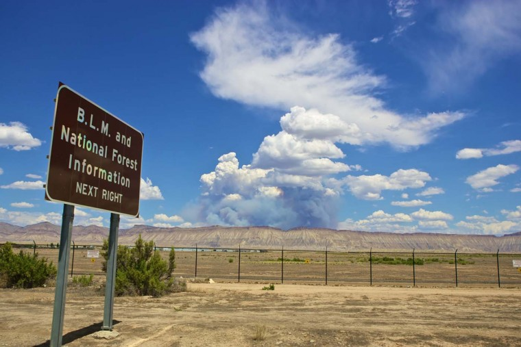 Pine Ridge Fire. (Credit: Joe Sterne)