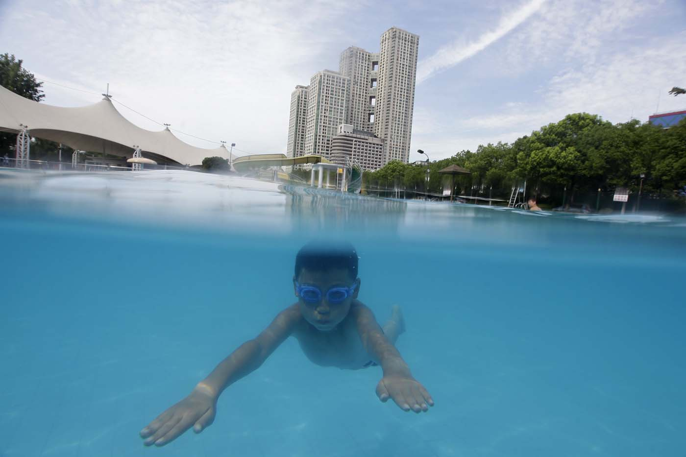 Jiangtan park in wuhan for Swimming pools in baltimore county