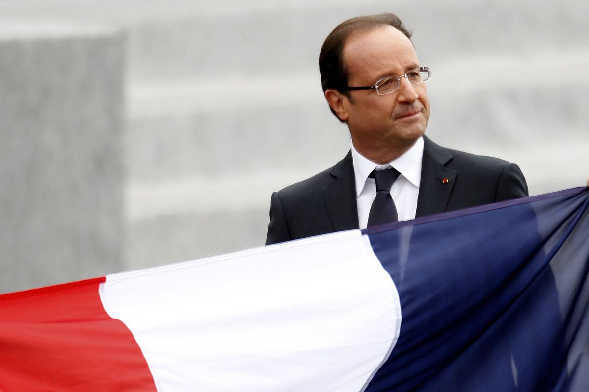 Francois Illas New Tradition: France's President Francois Hollande Leaves After The