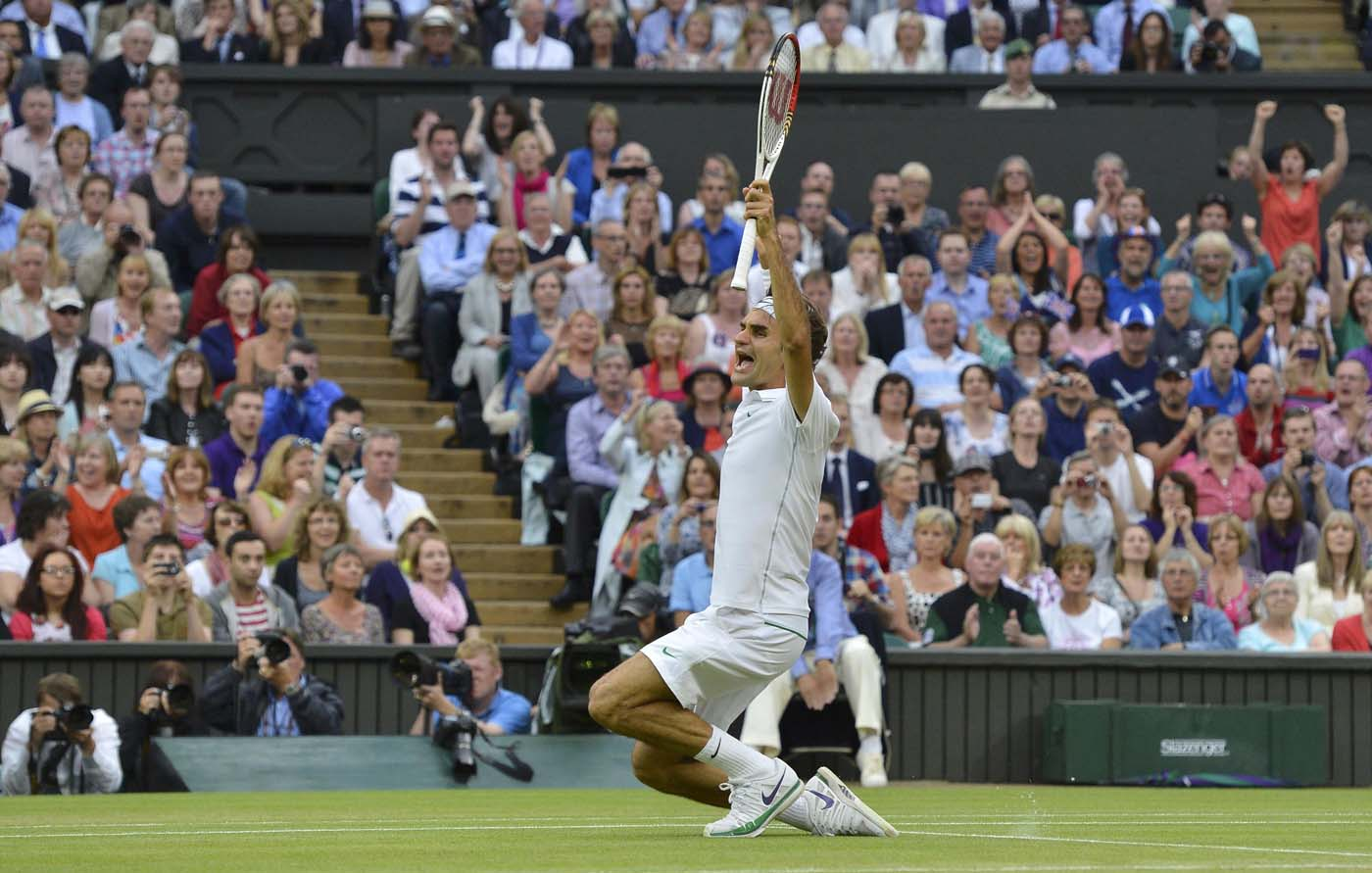 July 8 Photo Brief: Roger Federer wins seventh Wimbledon Title, rebels seize towns in eastern Democratic Republic of Congo